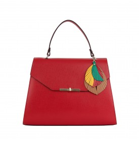 Red Upupa Handbag