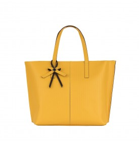 Yellow Civetta Shopping Bag