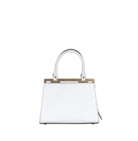 White Cara Handbag