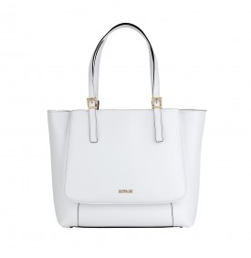 White Folega Shopping Bag