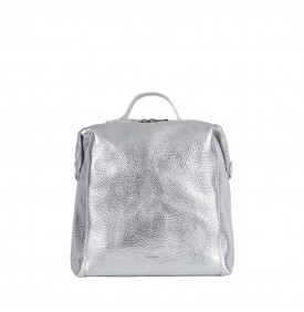 Borsa zaino Easy Bag Argento