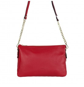Red shoulder bag Calandra