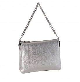 Easy Bag silver shoulder bag