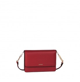 Verbena red shoulder mini-bag