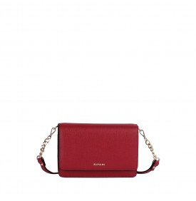 Verbena red shoulder mini bag