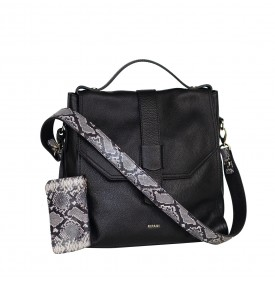 Lagrezia black handbag