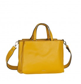 Ginestra mustard-color handbag