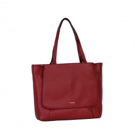 Ginestra red shopping bag