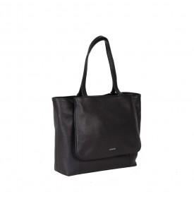 Ginestra black shopping bag