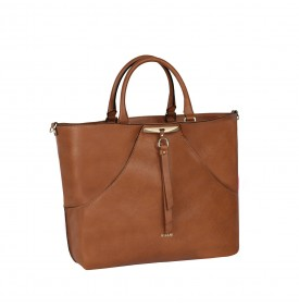 Ferula leather-color handbag