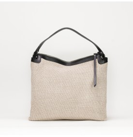 RONDINE shoulder bag Black/Beige