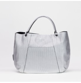 LOOLA shopping bag Silver