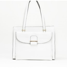BAHIA shopping bag White