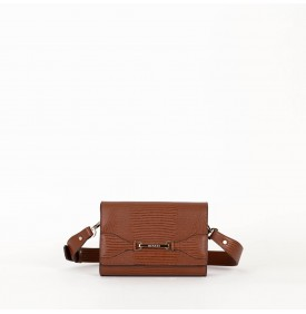 ORIONE cross body bag cuoio