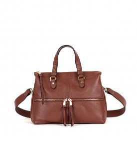 VIRGO handbag Almond