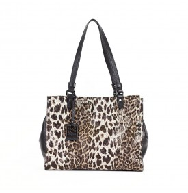 EDEN shopping bag Leopard