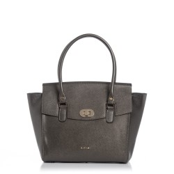 Shopping Bag Matera Gunmetal