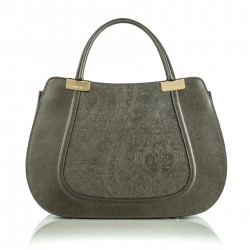 Handbag Califfa gunmetal