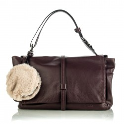 Shoulder bag Felce bordeaux