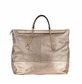Copper Calandra Shopping Bag