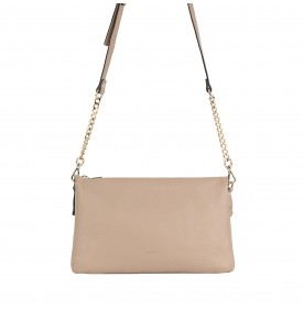Beige Calandra Shoulder Bag