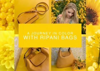 A JOURNEY IN COLOR WITH RIPANI BAGS